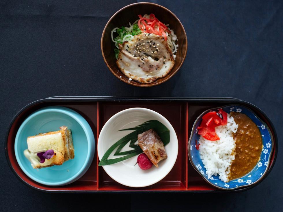 Cochon 555 Kata Robata dishes