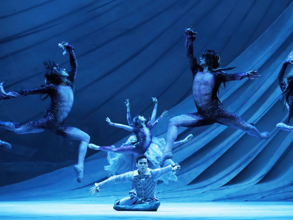 Artists of Houston Ballet in The Tempest