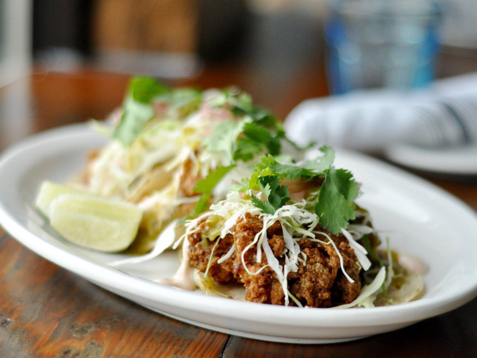 Mongers Market and Kitchen tacos