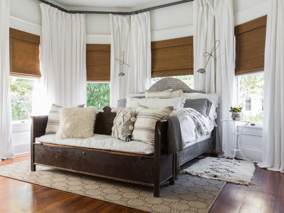 Housotn, Houzz Bohemian-Chic Style Home for a New Family, June 2017, master bedroom