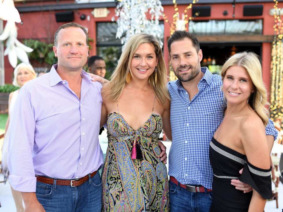 Houston, B&B Butchers & Restaurant Partini with Amschwand Sarcoma Cancer, June 2017, Josh Oren, Lisa Oren, Jay Fields, Allie Fields