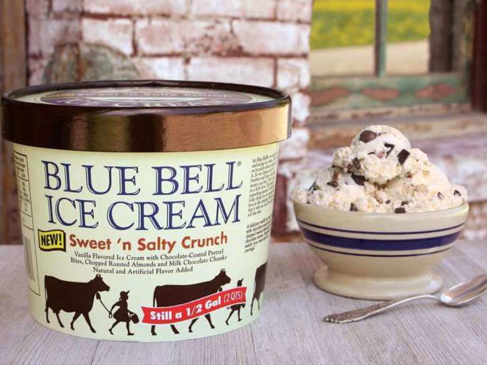 Houston, Blue Bell Ice Cream, Sweet 'n Salty Crunch, July 2017