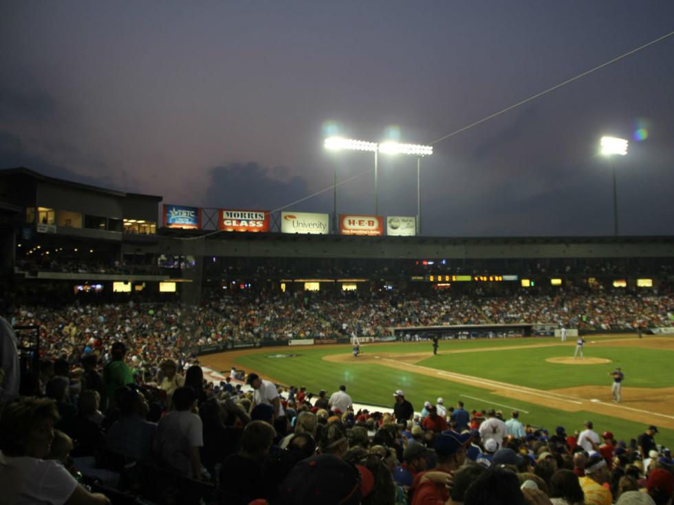 Round Rock Express at Dell Stadium