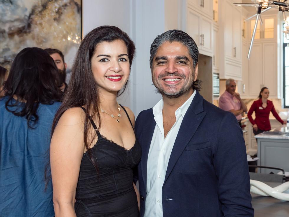 Houston, Carnegie Homes event, July 2017, Naureen Malik, Ahmad Malik