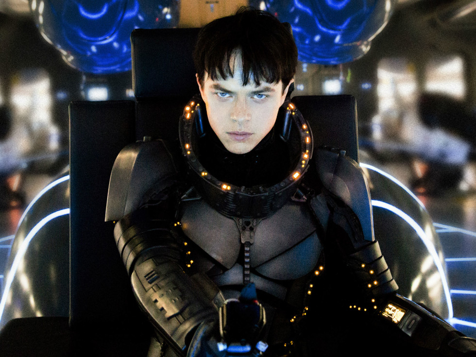 Dane DeHaan in Valerian and the City of a Thousand Planets