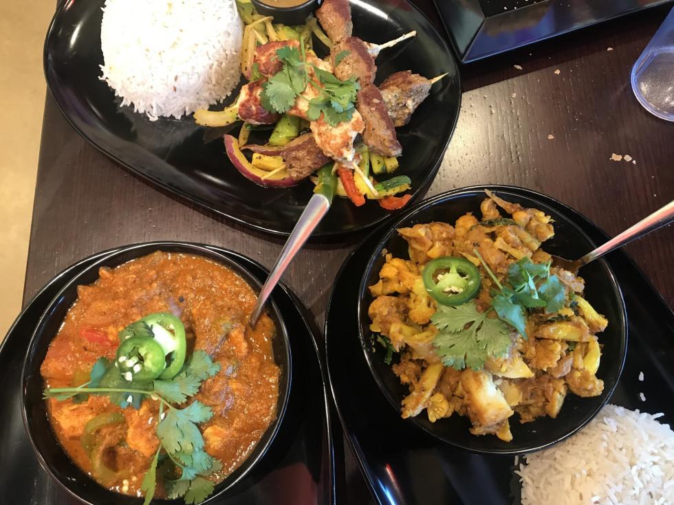 Tarka Indian Kitchen dishes