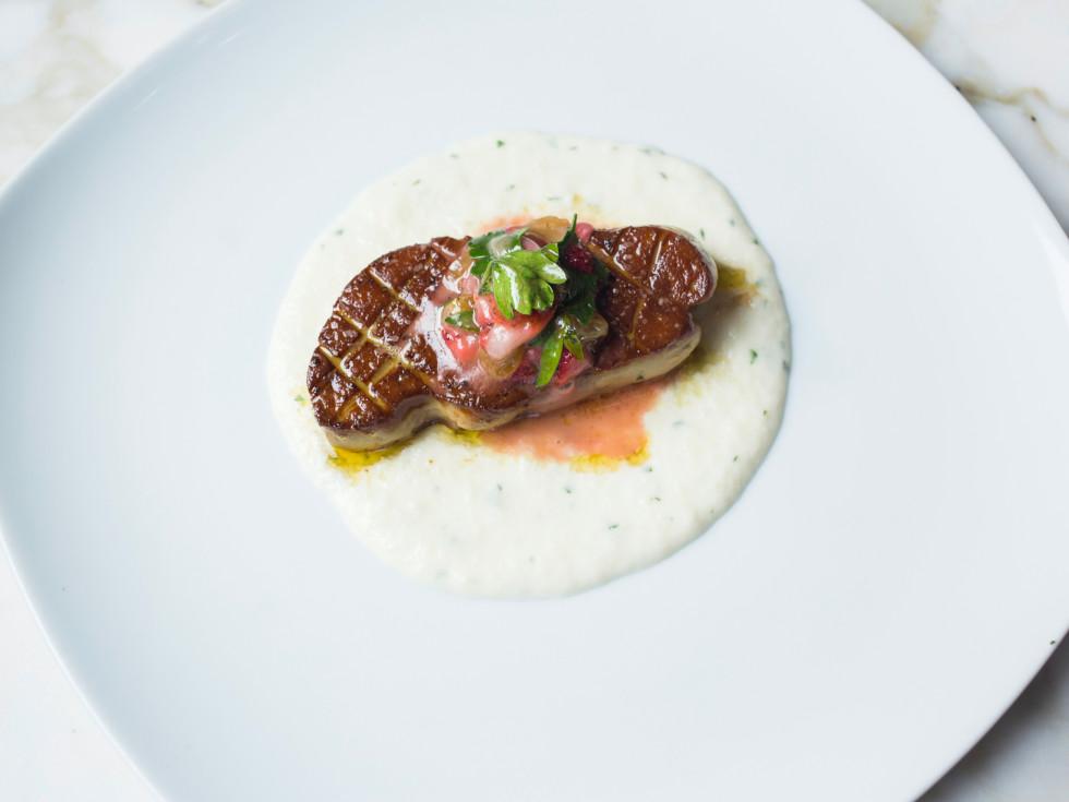 A'Bouzy seared foie gras
