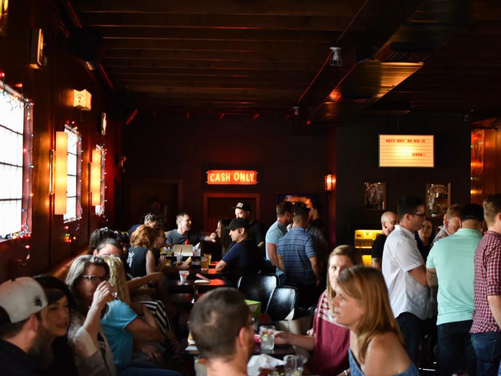 Nickel City bar interior