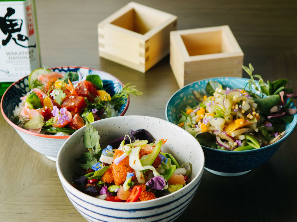 Dallas Fish Market presents Poke & Sake
