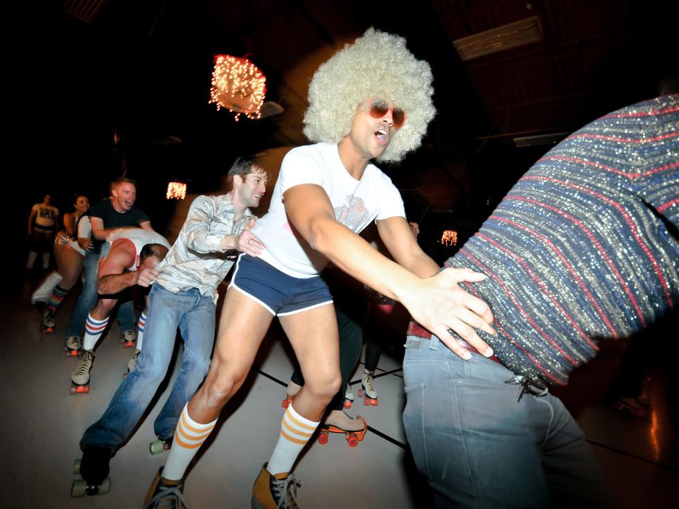 Austin Photo Set: News_John Leach_roller disco_feb 2012_5