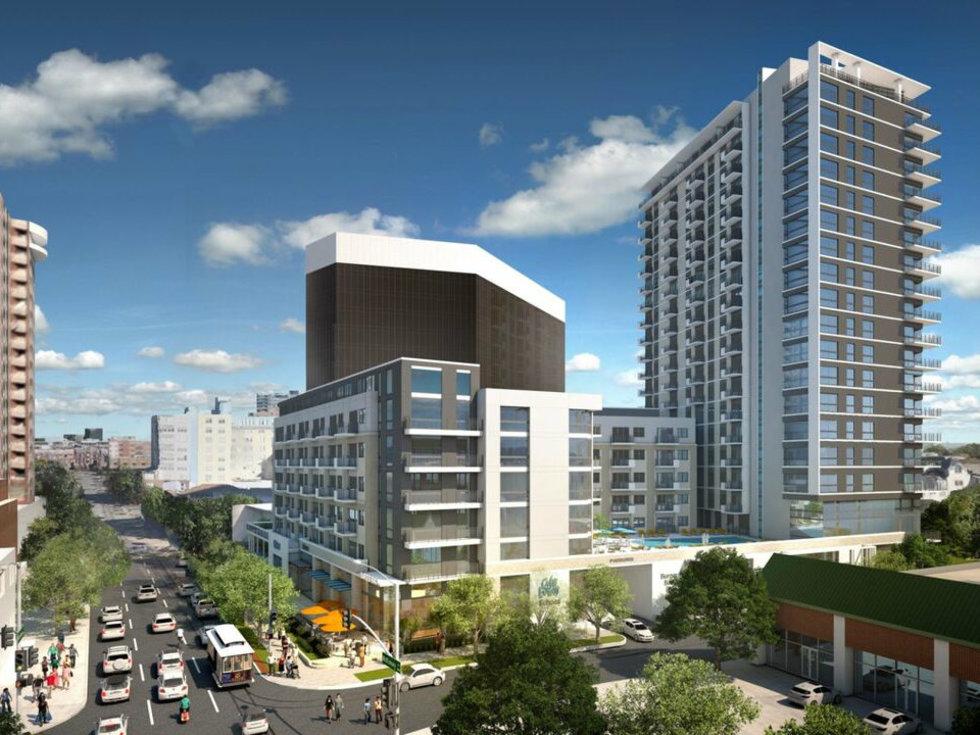 M Line Tower Dallas apartments