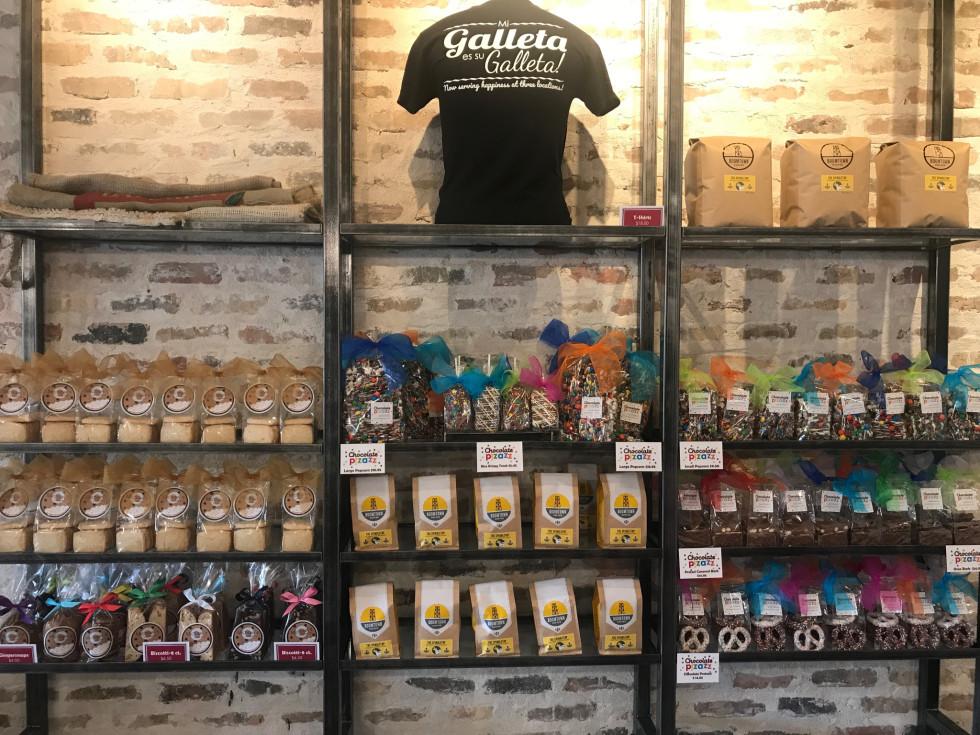 Michael's Cookie Jar Briargrove retail display