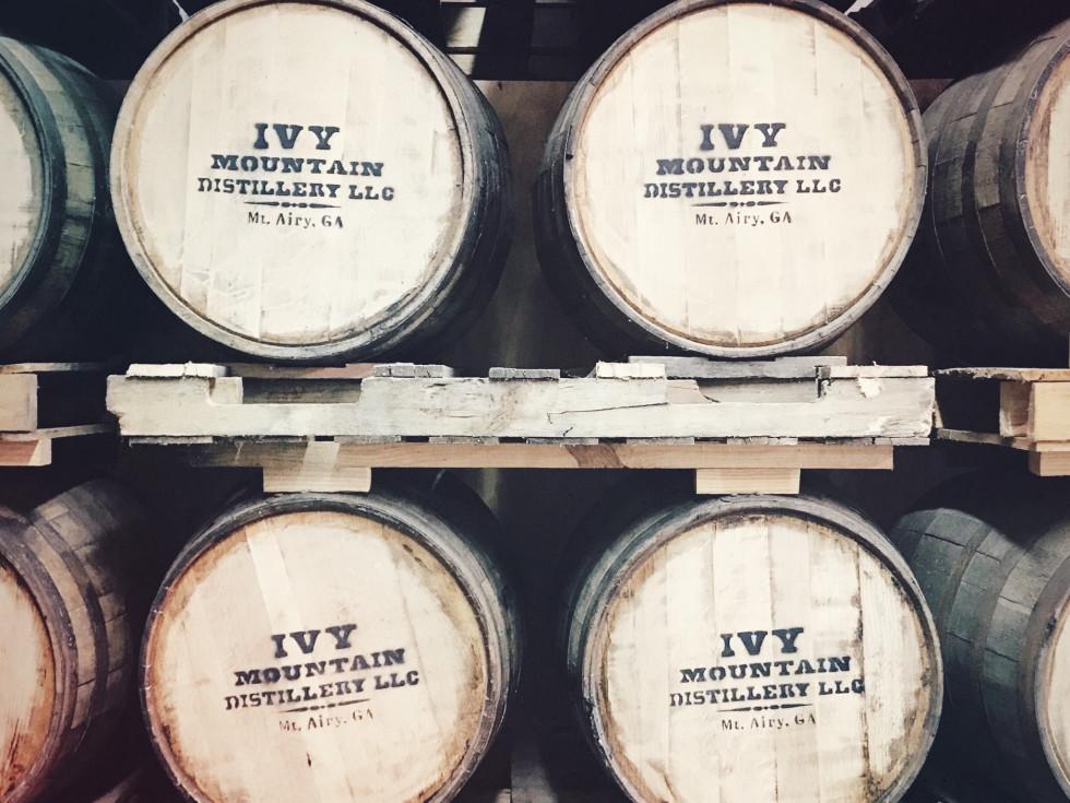 Indianola Distilling Ivy Mountain Appalachian American Whiskey Barrels
