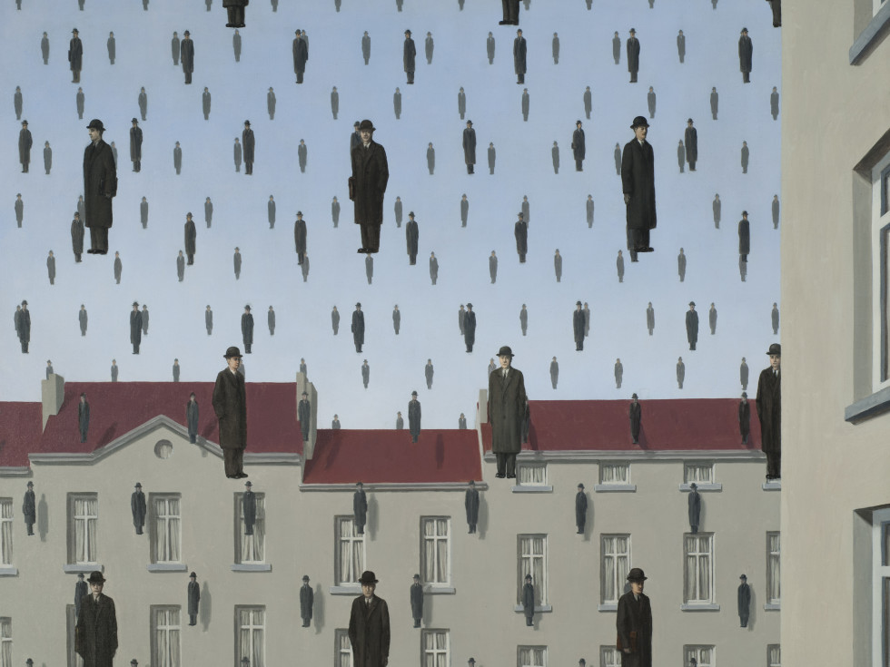 Menil Collection: René Magritte, Golconda (Golconde)