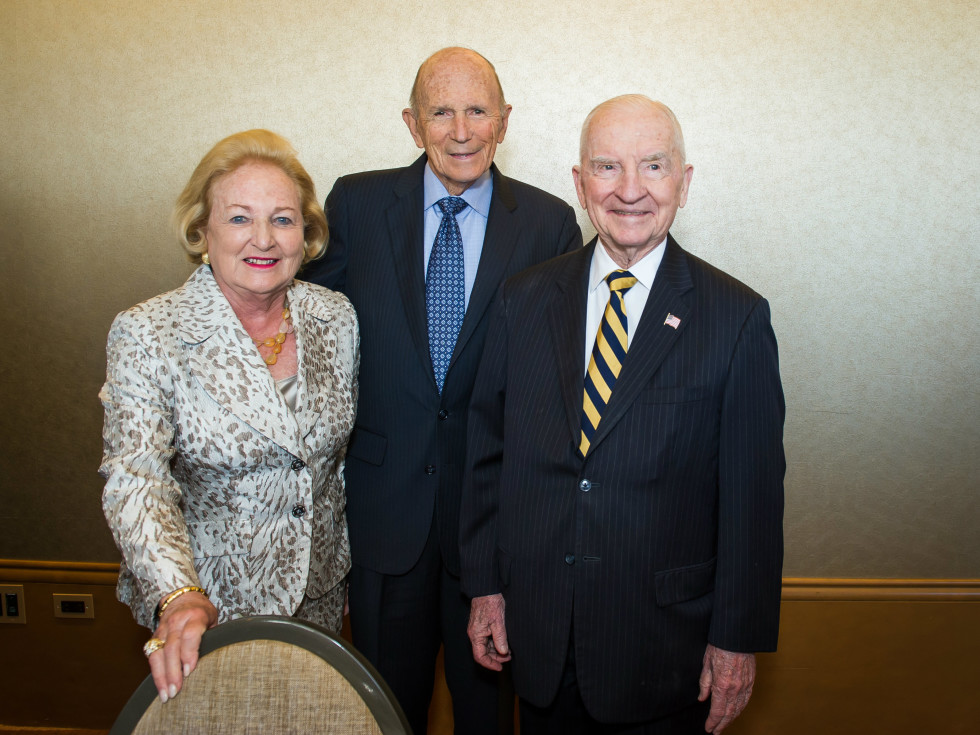 Margot Perot, Dr. Kenneth Cooper, Ross Perot