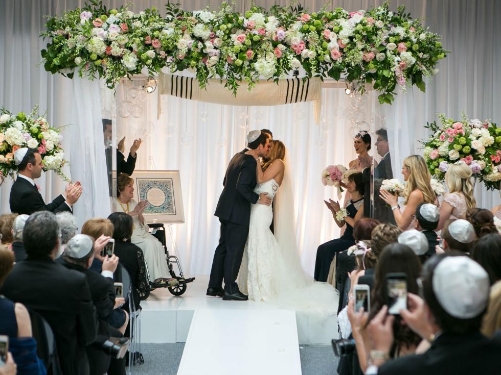 Aronson Wedding Kiss