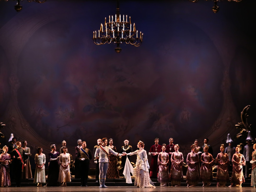 Mayerling artists of Houston Ballet