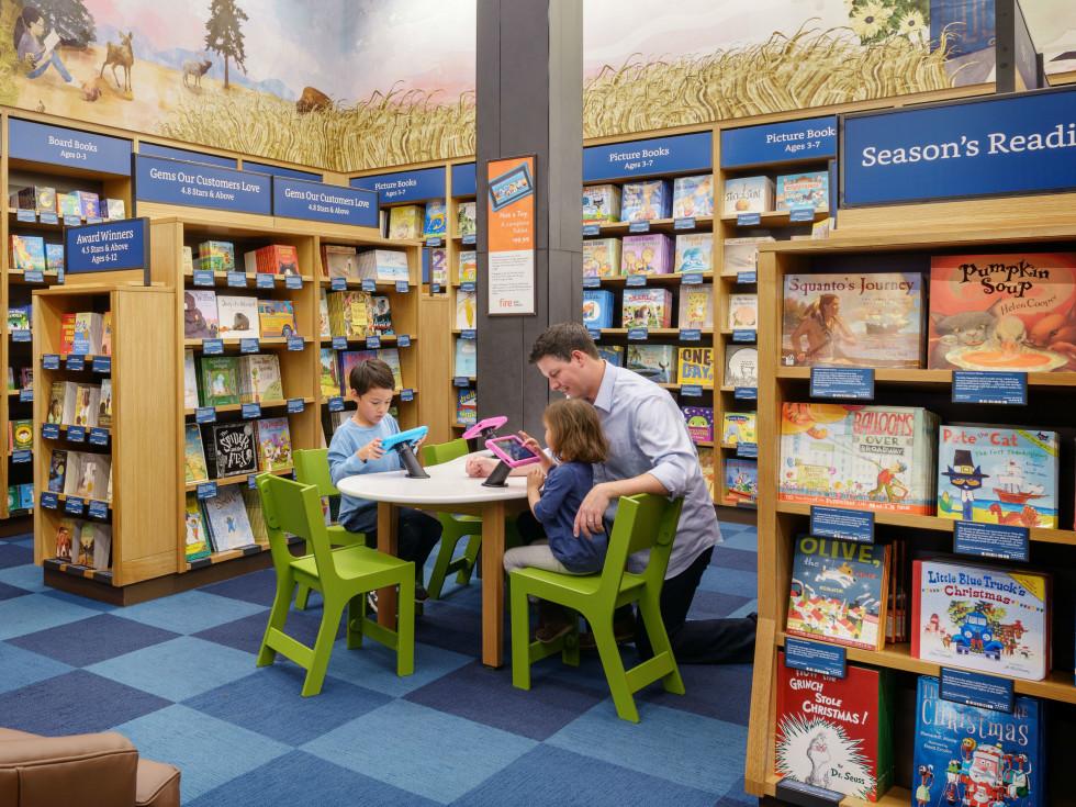 Amazon Books store