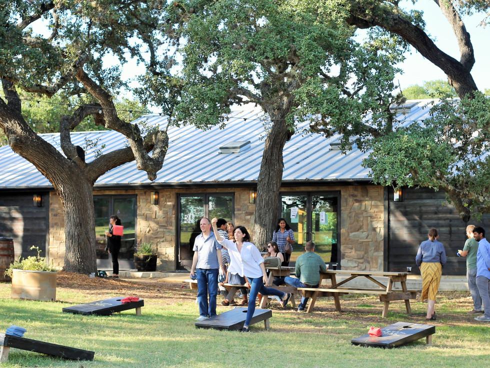 Treaty Oak Ghost Hill Back Yard