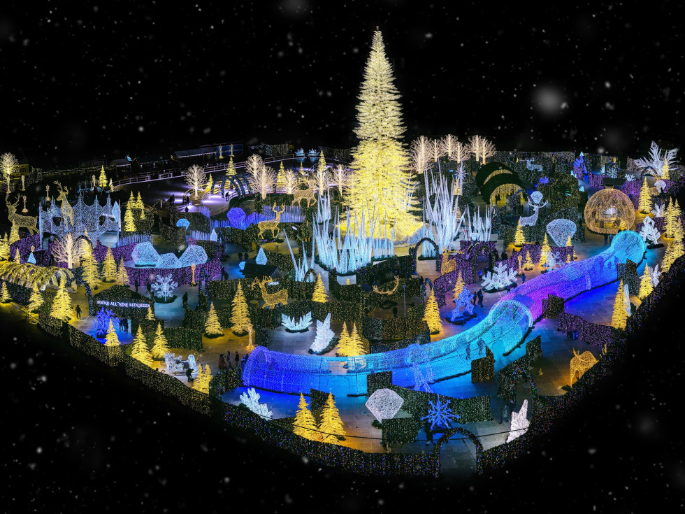 Enchant: The World's Largest Christmas Light Maze & Market