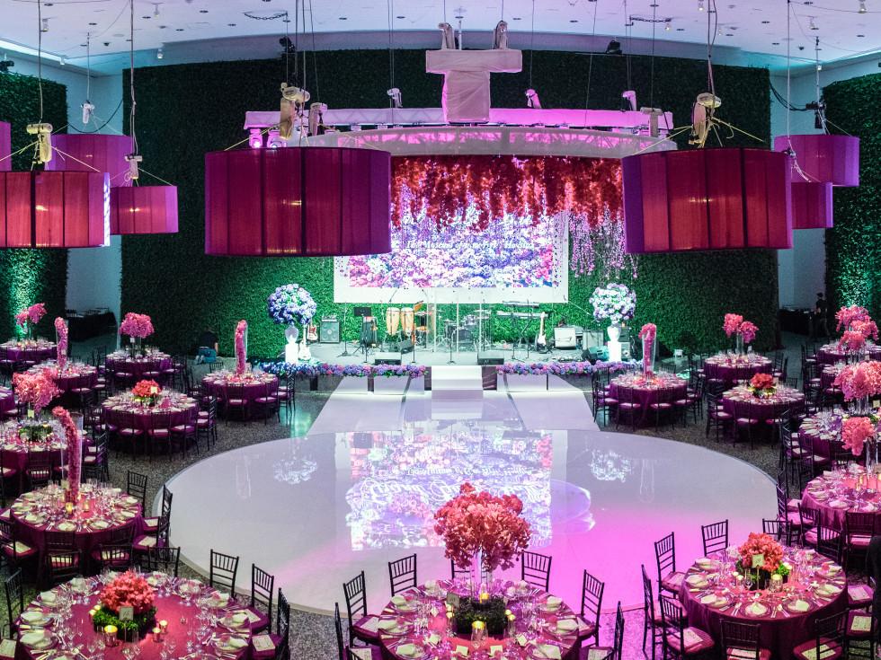 MFAH Grand Gala decor by Richard Flowers