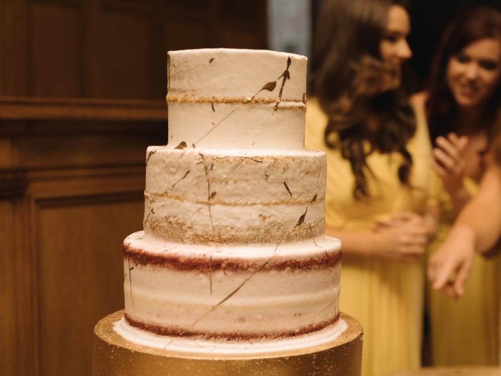 Collins Wedding, Cake