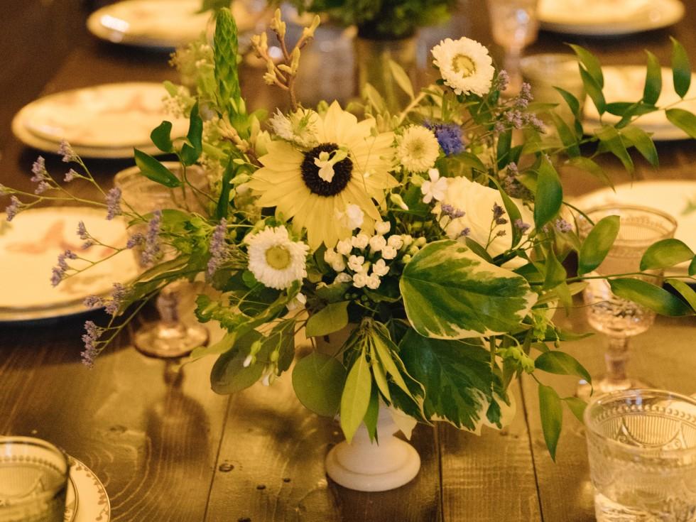 Collins Wedding, Flowers