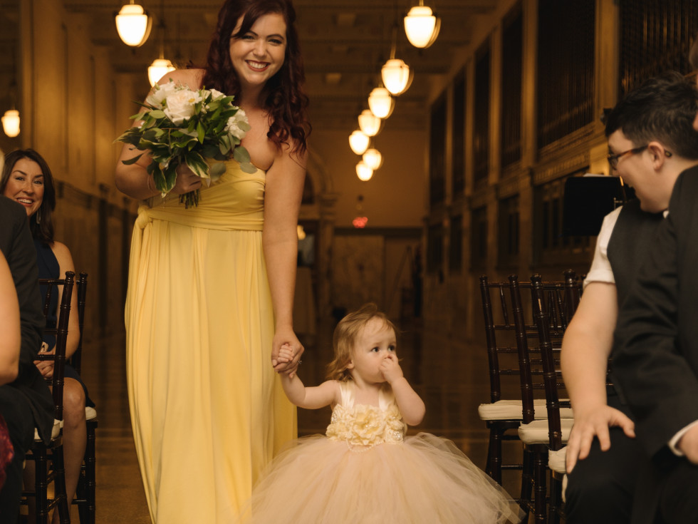 Collins Wedding, Aisle