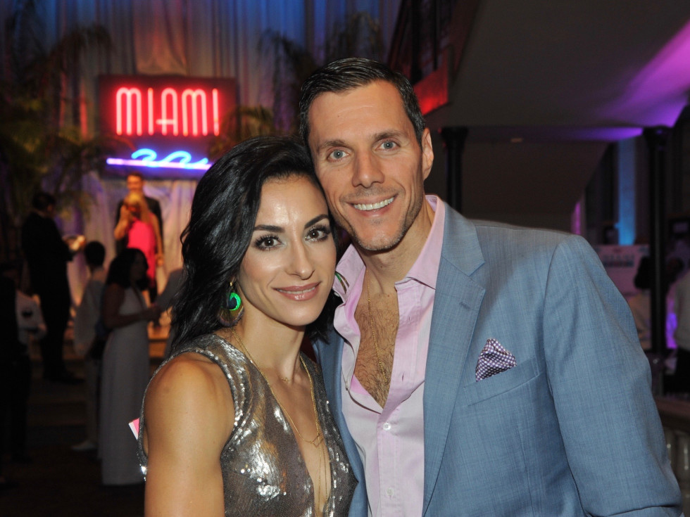 Evelyn and Francisco Uzcategui at Children's Museum Gala