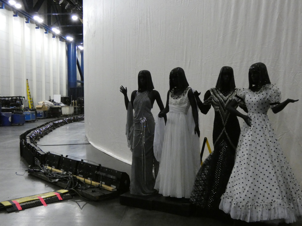 HGO Resilience Theater, backstage