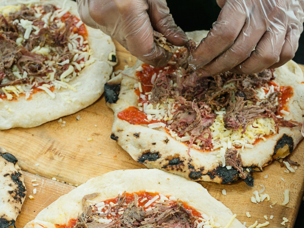Butcher's Ball 2017 Arash Kharat Beaver's pizza