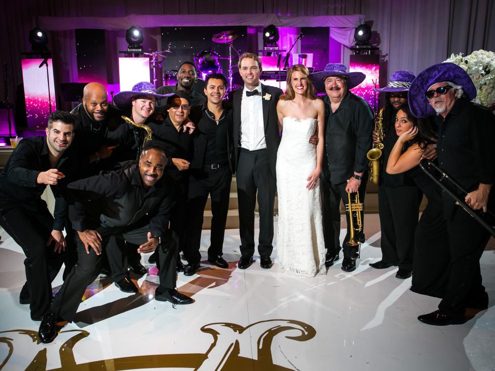 Wallander Wedding, with band