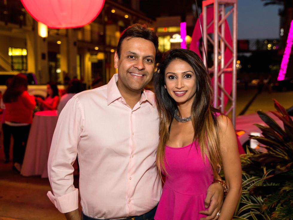 Houston, Marcy, West Ave Pink Party, October 2017, Arpan Gupta, Sapna Patel