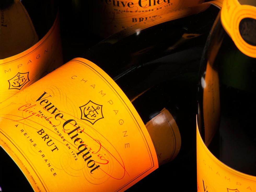 Veuve Cliquot bottles