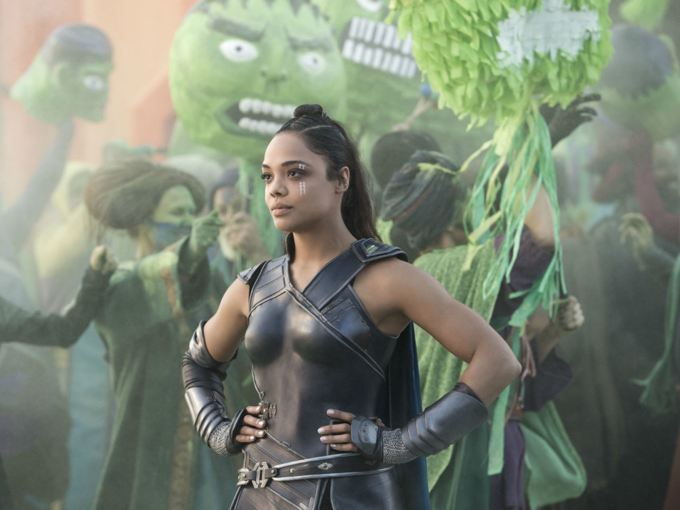 Tessa Thompson in Thor: Ragnarok
