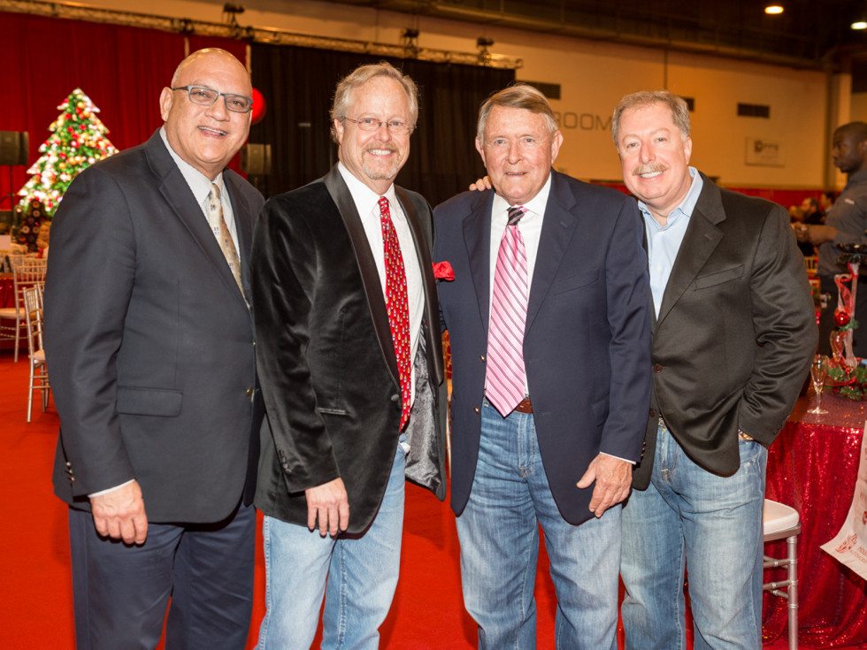 Fred Aguilar, MD, Cade Burks, Don Gullquist, Sam Malone/Nutcracker Preview Party