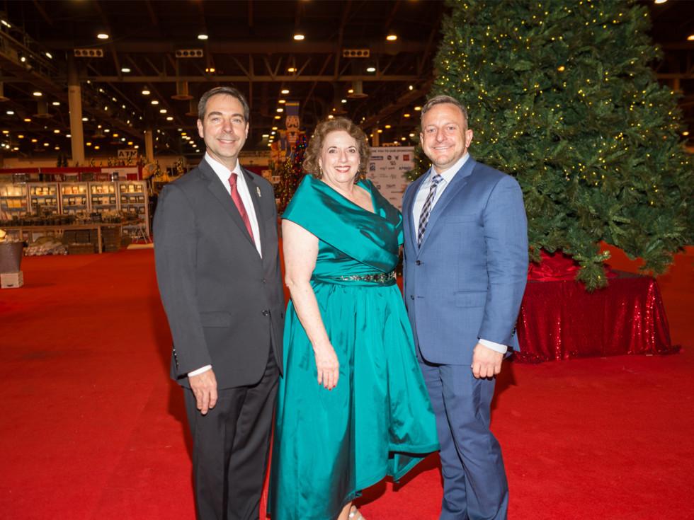 Jim Nelson, Myrna Fisch, Chad Libertus/Nutcracker Preview Party