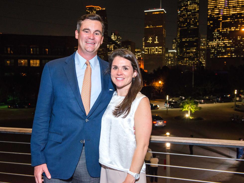 Houston, Buffalo Bayou Partnership Gala, November 2017, Matt Goossen, Lacey Goossen