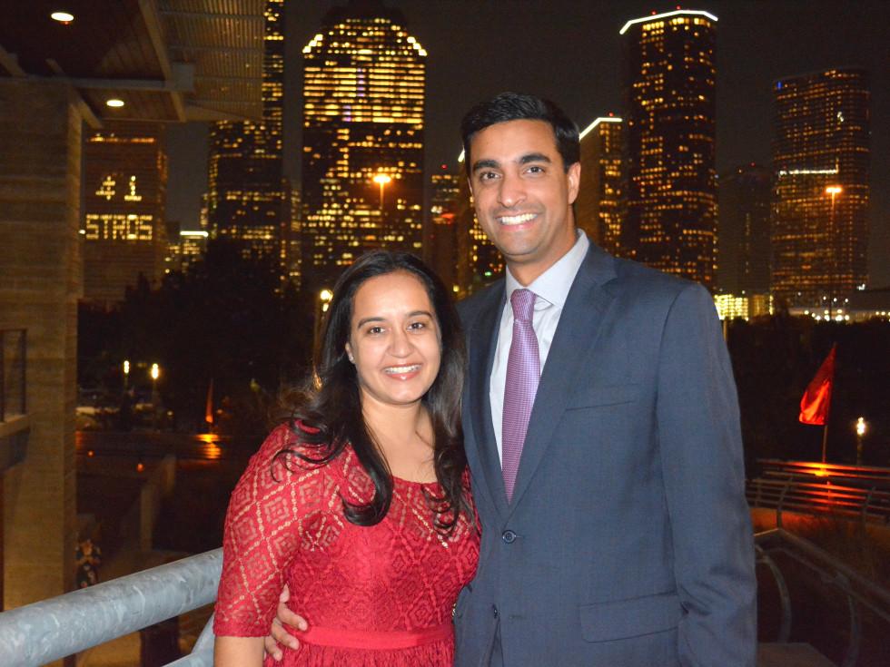Houston, Buffalo Bayou Partnership Gala, November 2017, Rabia Samji, Omar Samji