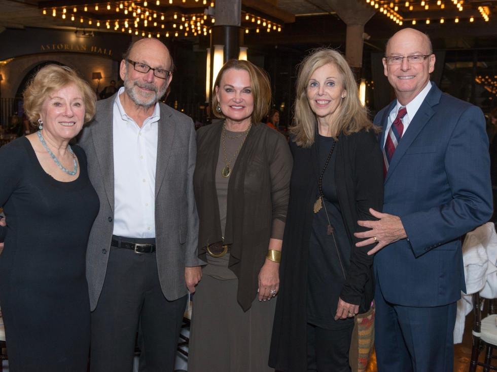 WITS gala 2017: Miriam Friedman, Robby Friedman, Marcia Nichols, Cheryl Butler, Ed Butler