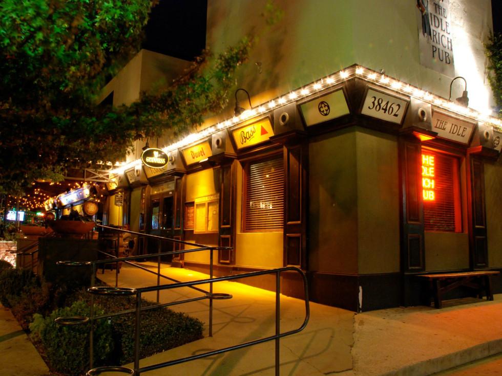 Idle Rich Pub in Dallas