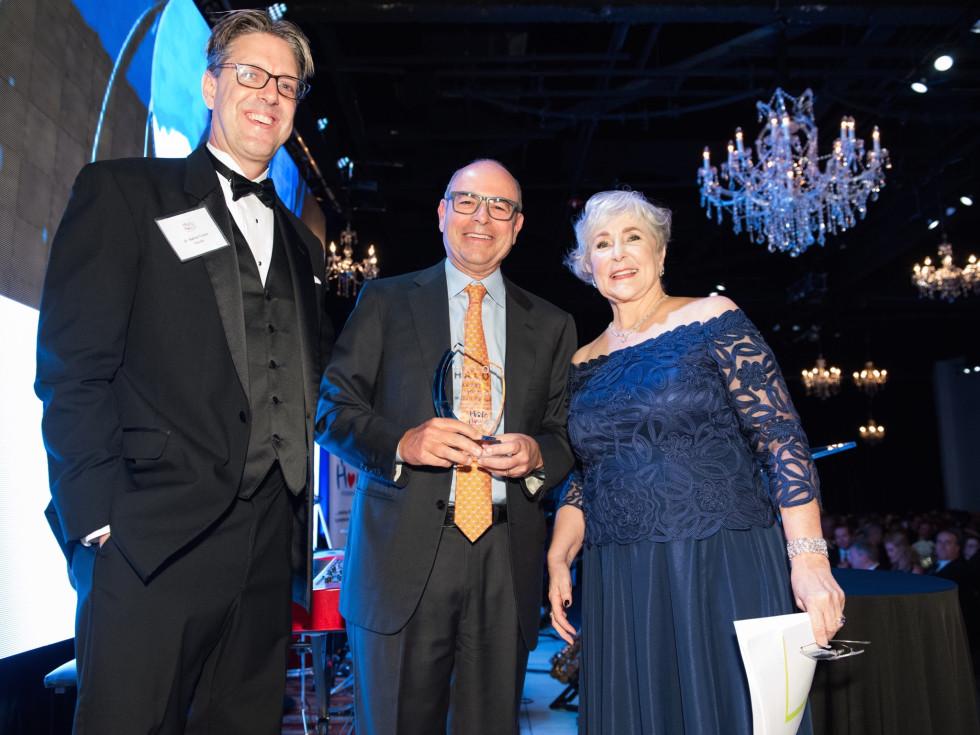 Halo House gala, Dr. Nathan Fowler, Mike Morgan, Kathleen Fowler