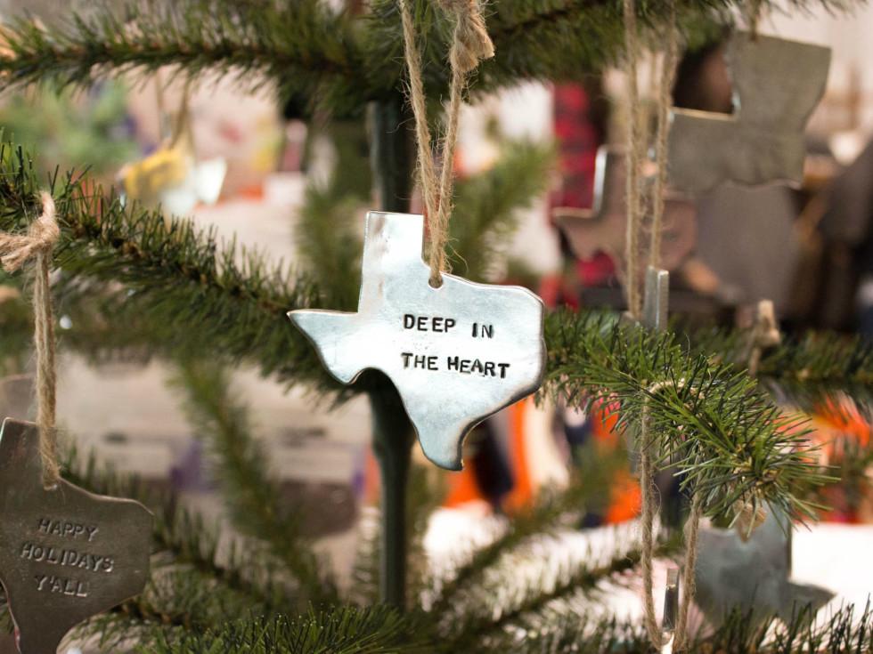 Texas holiday ornament from Neighborhood