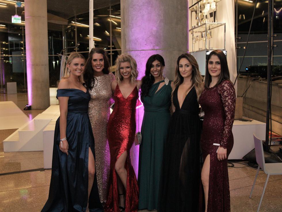 Cadi Shubert, Meredith Mickler, Haylee Terry, Arez Aziz, Rozha Azmar, Sneha Kuruvila, Millennial Gala 2017