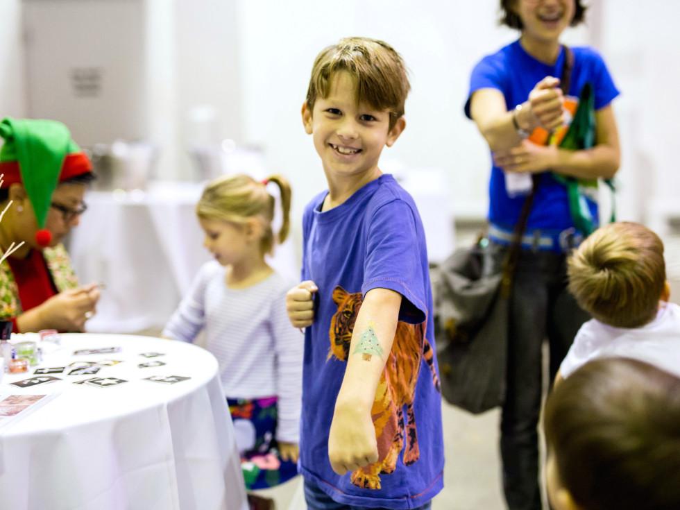 Houston, CultureMap Holiday Pop-Up Shop, November 2017, kids zone