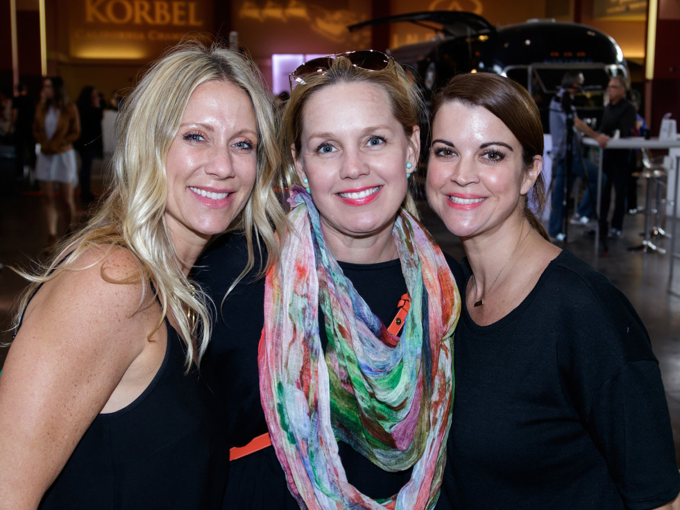 Stephanie Hall, Gitta Black, Meghan Lowrey, CultureMap Holiday Pop-up Shop 2017