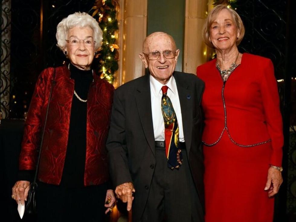 Louise B. Carvey, Bob Patton, Jo Ann Patton, FW Opera Dinner with the Stars