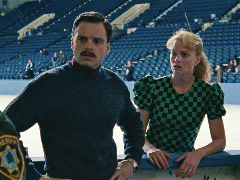 Sebastian Stan and Margot Robbie in I, Tonya