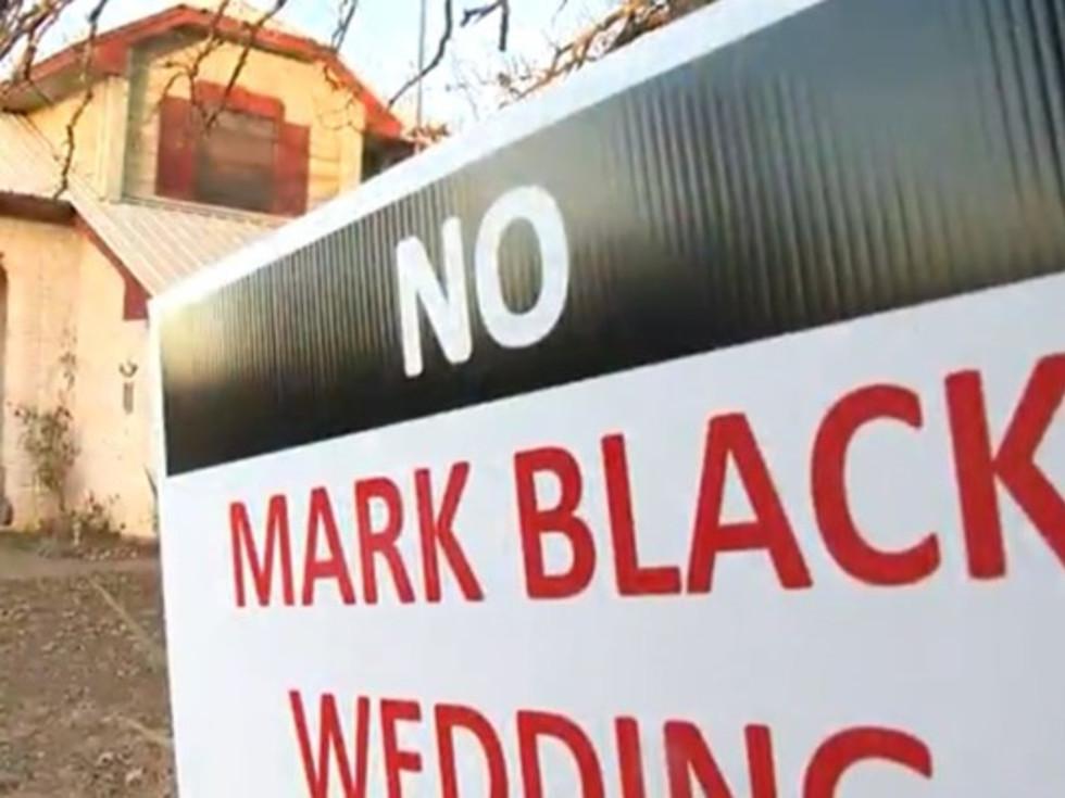 Terry Black's wedding venue