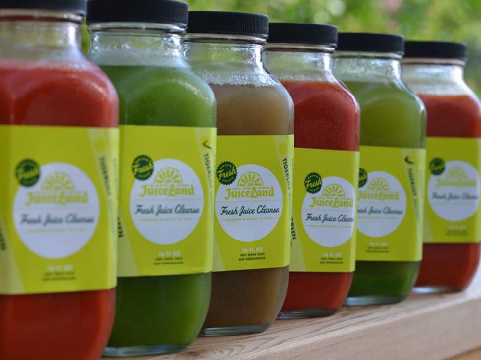 JuiceLand cleanses